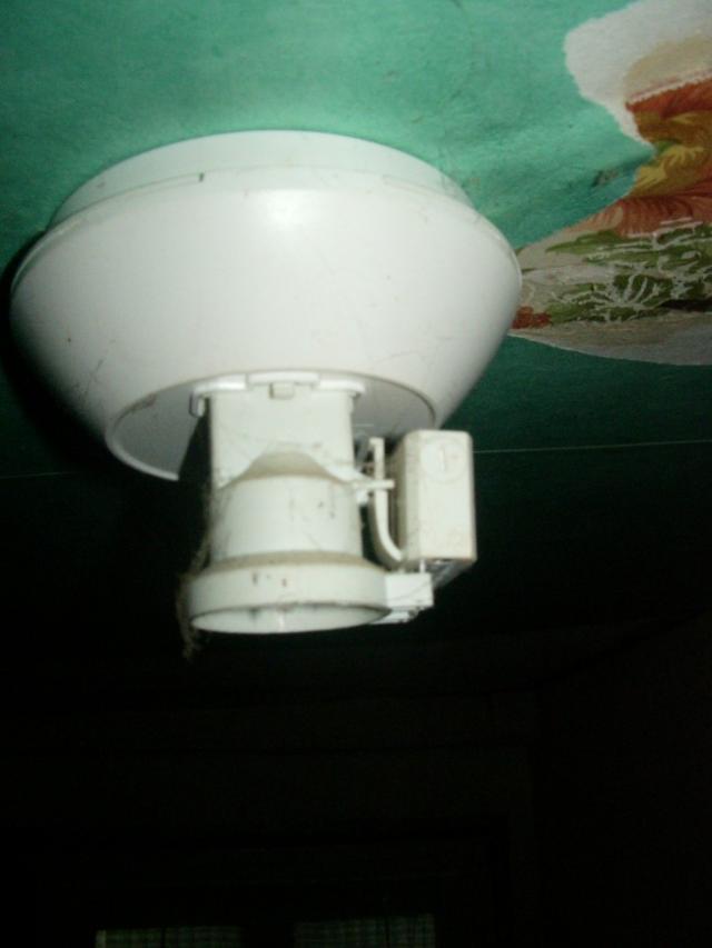 demonter un luminaire plafonnier 1