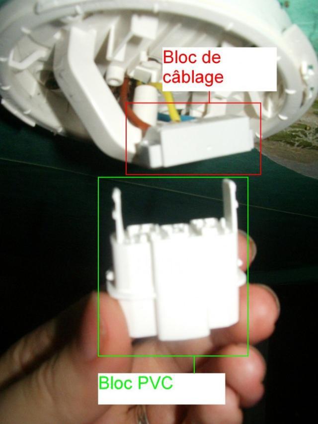 demonter un luminaire plafonnier 8