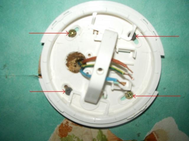 demonter un luminaire plafonnier 10
