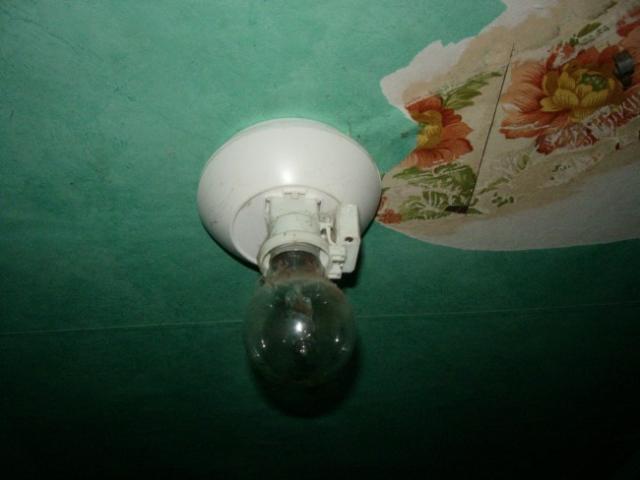 Démonter un luminaire plafonnier