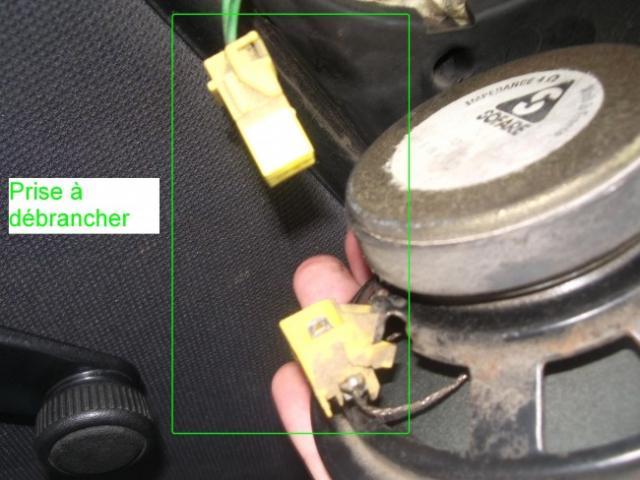 installation d un autoradio haut parleurs sur citroen zx 1 9d 2
