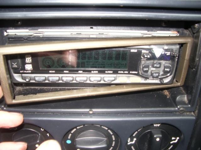 installation d un autoradio haut parleurs sur citroen zx 1 9d 12