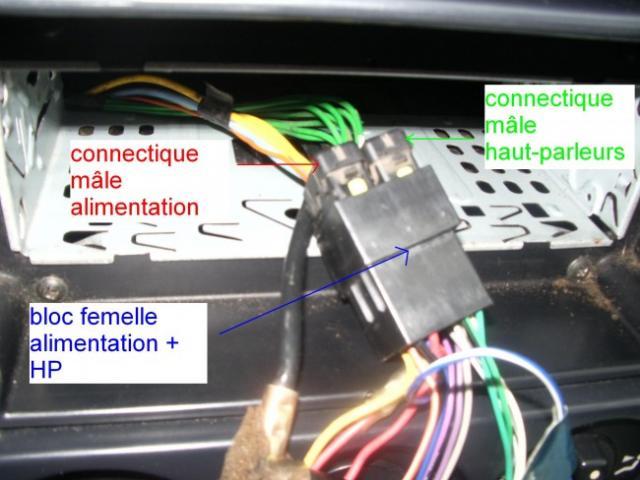 installation d un autoradio haut parleurs sur citroen zx 1 9d 7