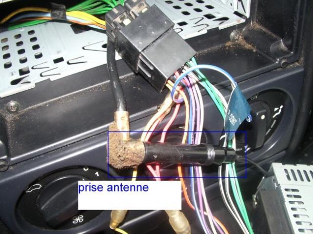 installation d un autoradio haut parleurs sur citroen zx 1 9d 8