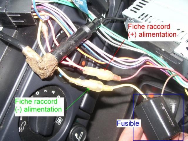 installation d un autoradio haut parleurs sur citroen zx 1 9d 9