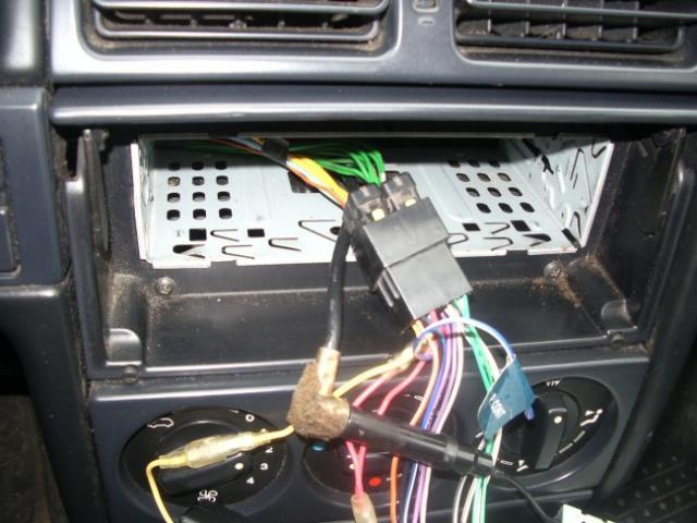 installation d un autoradio haut parleurs sur citroen zx 1 9d 10