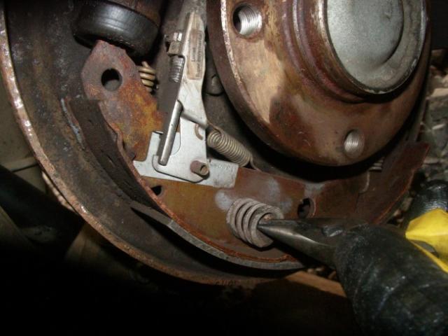 remplacement d un cylindre de roue sur citroen zx break 1 9d 5
