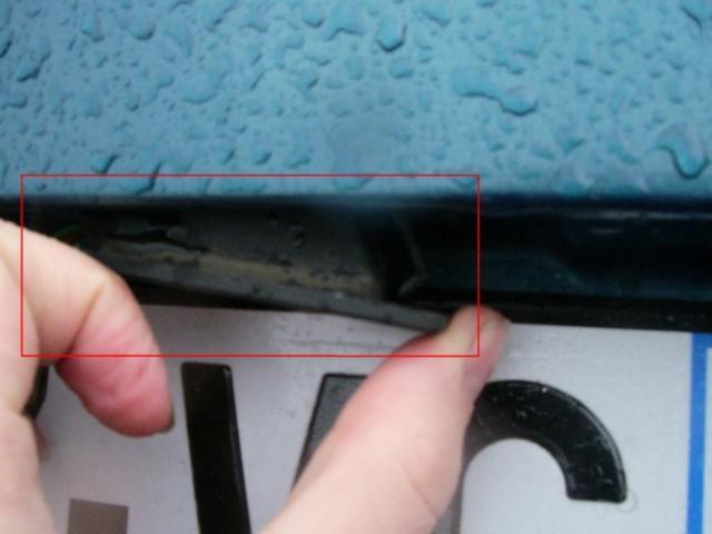 remplacement feux de plaques d immatriculation sur zx 11