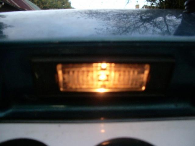 remplacement feux de plaques d immatriculation sur zx 12