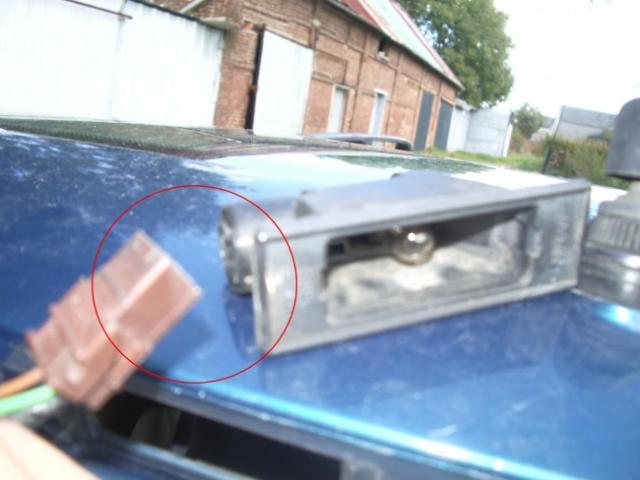 remplacement feux de plaques d immatriculation sur zx 7