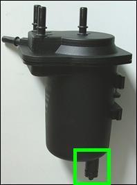 remplacer filtre gasoil clio 2 1 5dci 2