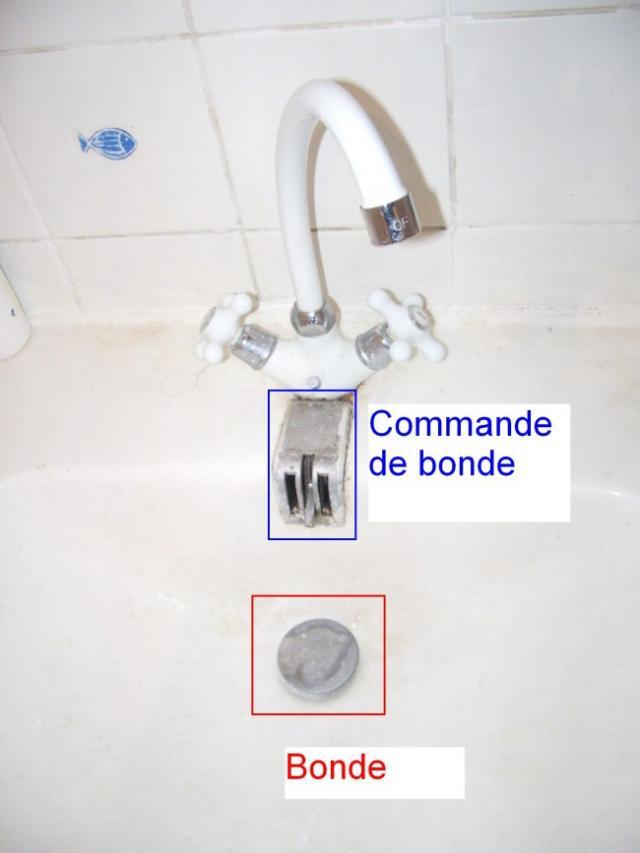 reparer le mecanisme de bonde sur lavabo ancien 1