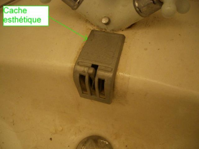 reparer le mecanisme de bonde sur lavabo ancien 15