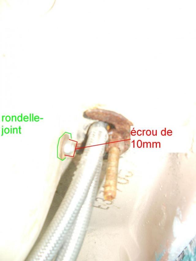 reparer le mecanisme de bonde sur lavabo ancien 16