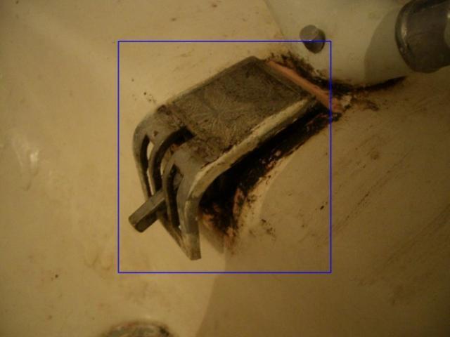 reparer le mecanisme de bonde sur lavabo ancien 4