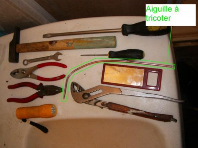 reparer le mecanisme de bonde sur lavabo ancien 10