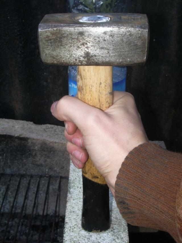reparer un marteau ou une massette casses 5