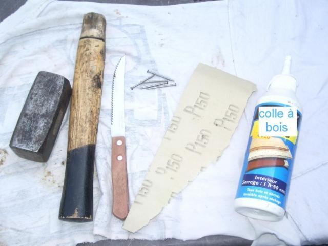 reparer un marteau ou une massette casses 0