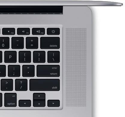 Reglage volume de votre Mac