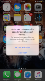 sauvegarder les photos de son iphone sur mac 3