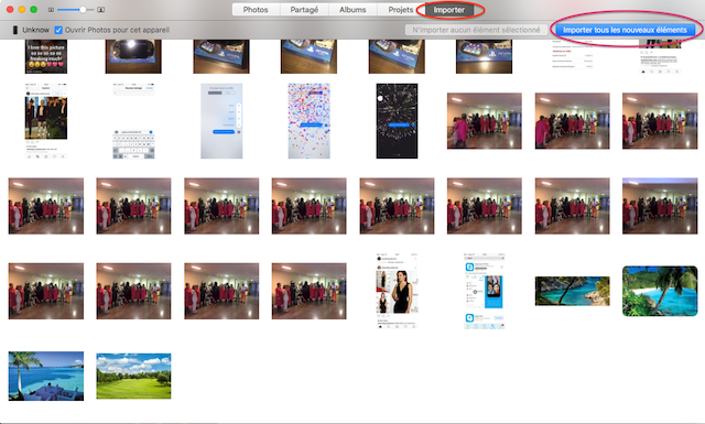 sauvegarder les photos de son iphone sur mac 4