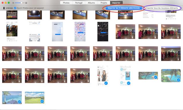 sauvegarder les photos de son iphone sur mac 5