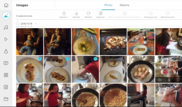 transferer vos photos et videos iphone vers le pc 1