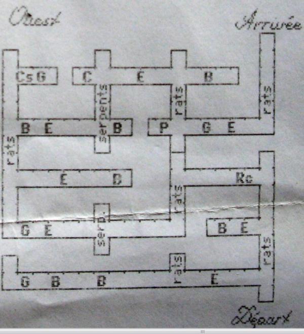 beyond dark castle plan des labyrinthes 4