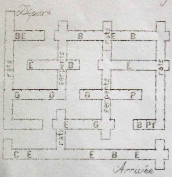 Beyond Dark Castle : plan des labyrinthes